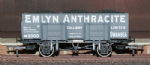B861 Dapol :20t Steel Mineral Wagon Emlyn Anthracite